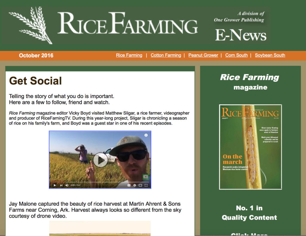 Rice Farming Magazine