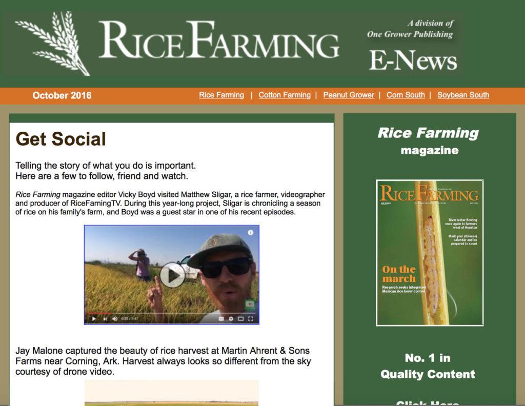 Rice Farming Magazine